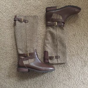GH Bass Nell Tweed Riding Boots